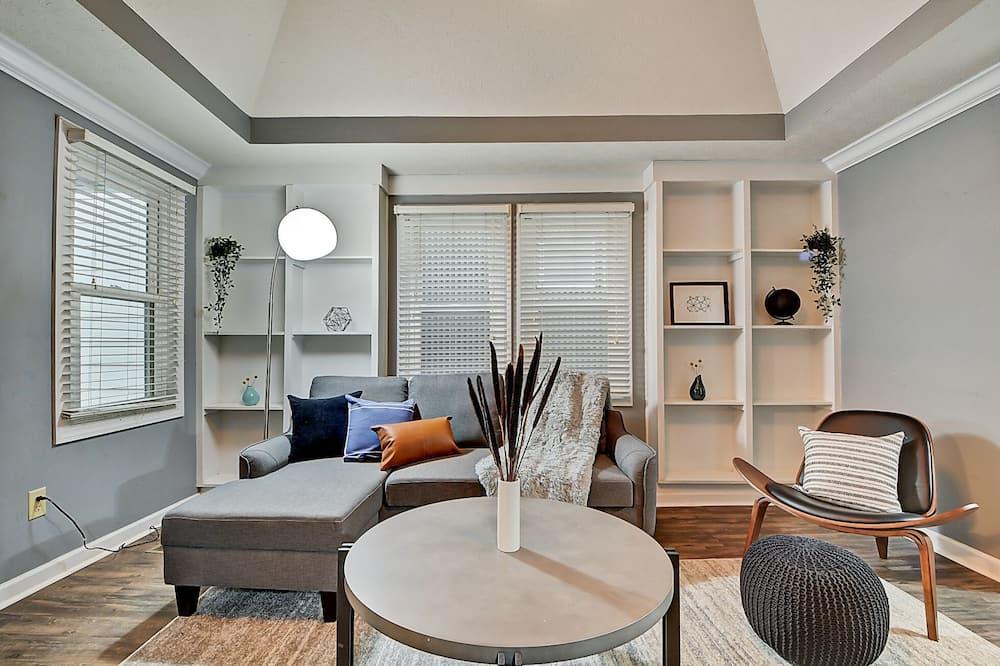 Talo, 3 makuuhuonetta - Oleskelualue