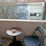Standard Double Room, Balcony, Garden View - Balkoni