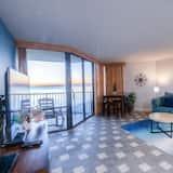 Condo, 1 Bedroom, Balcony, Beach View (West 910) - Living Area