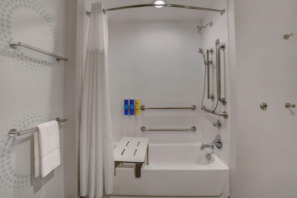 Δωμάτιο, 1 King Κρεβάτι, Μπανιέρα - Μπάνιο