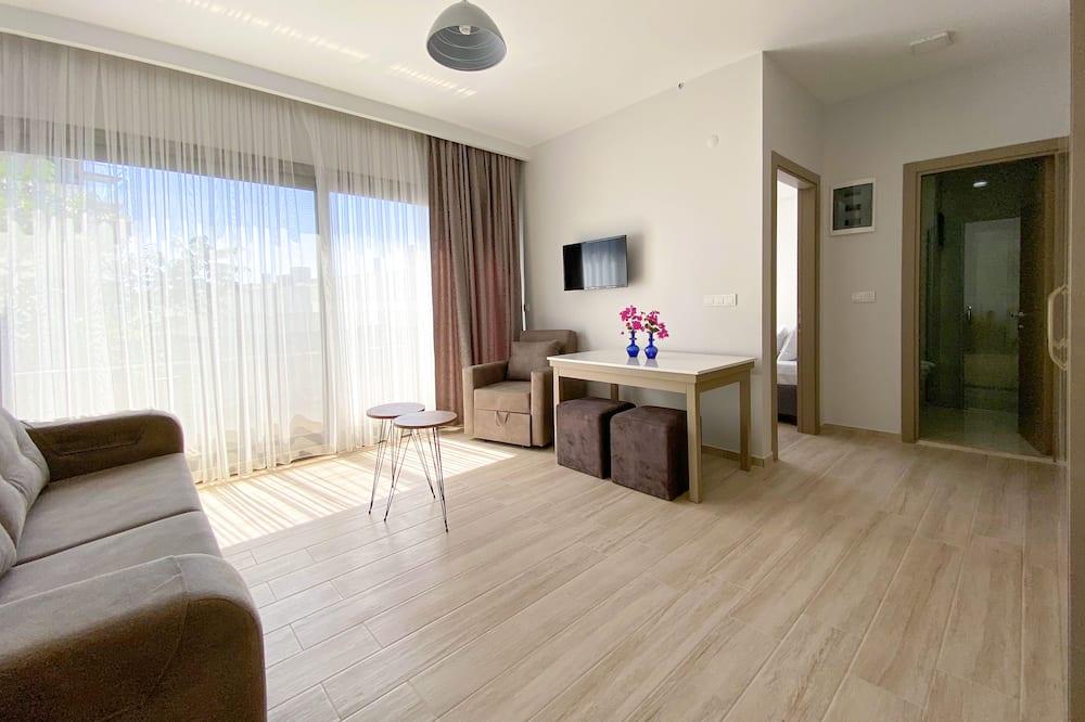 Apart 4 - Obývacie priestory