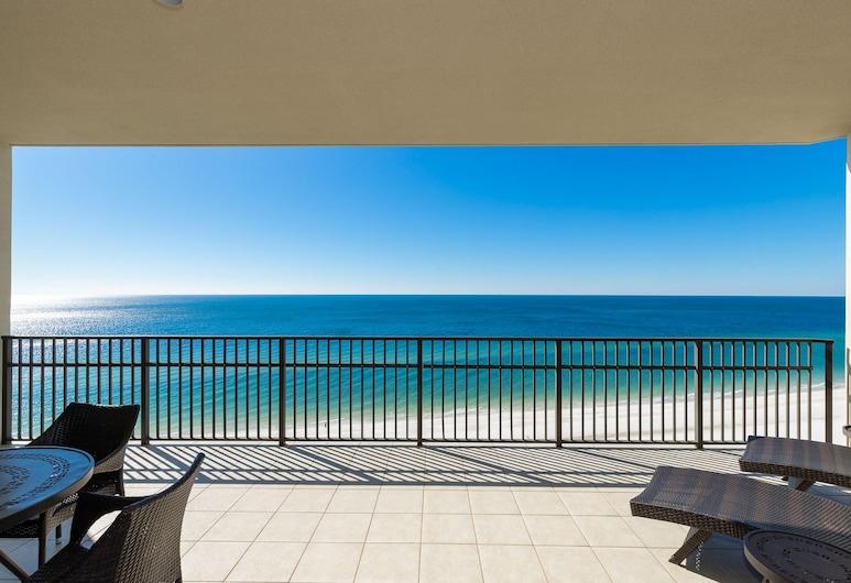 Phoenix West by Brett-robinson Vacations, Orange Beach, Kooperatīva tūristu mītne, četras guļamistabas, skats uz jūru, Balkons
