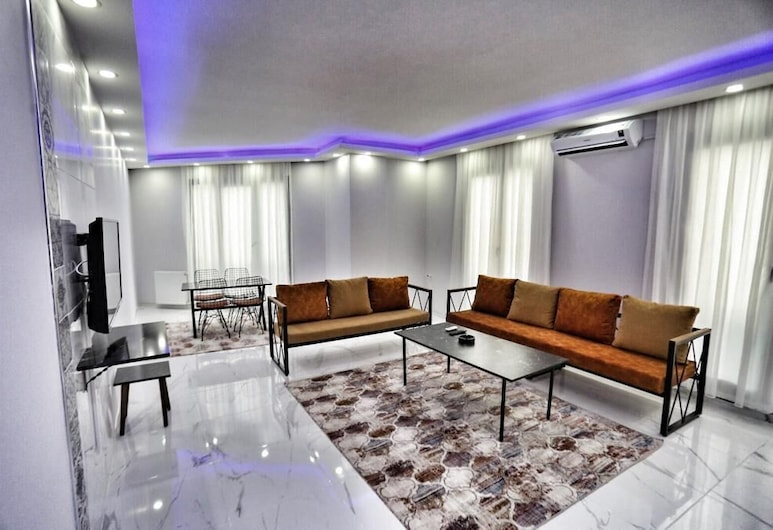 Hekimhan Hotel, Κωνσταντινούπολη, Standard Διαμέρισμα, 2 Υπνοδωμάτια, Περιοχή καθιστικού