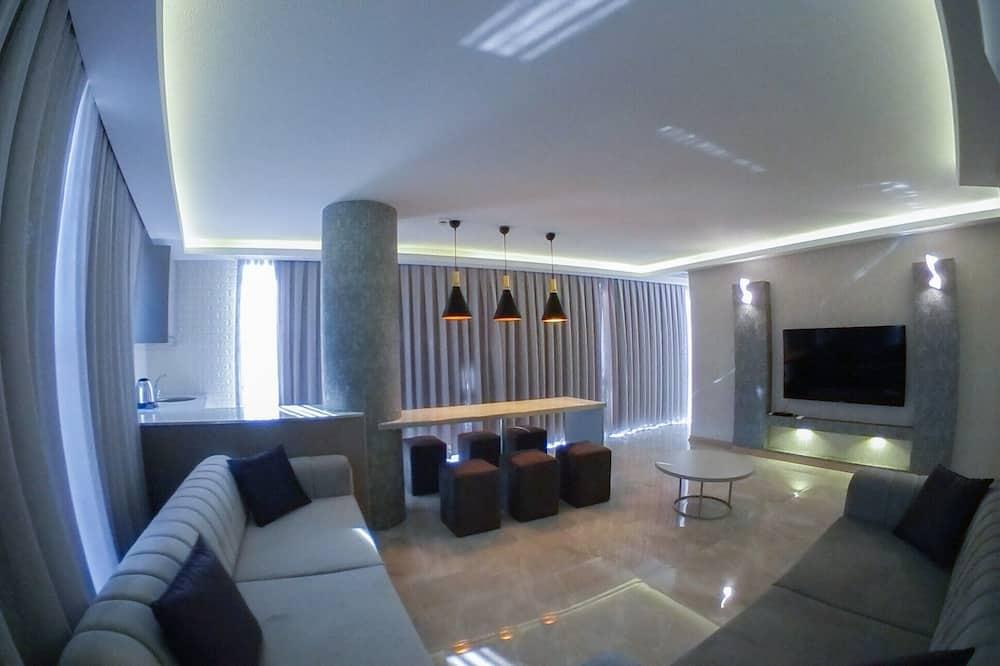 Apartmán typu Deluxe, 3 spálne - Obývacie priestory