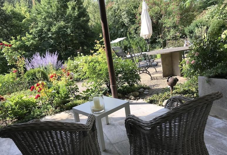 Ferienwohnung am Weinberg, Randersacker, Terraza o patio