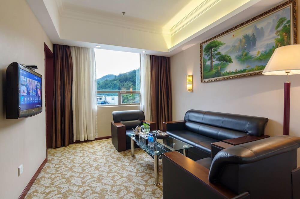 Weiluola Deluxe Suite - Living Area