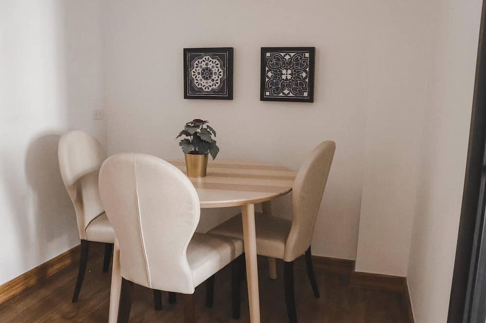 Štúdiový apartmán typu Exclusive - Stravovanie v izbe