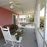 Hus, flere senger (Pink Flamingo) - Balkong
