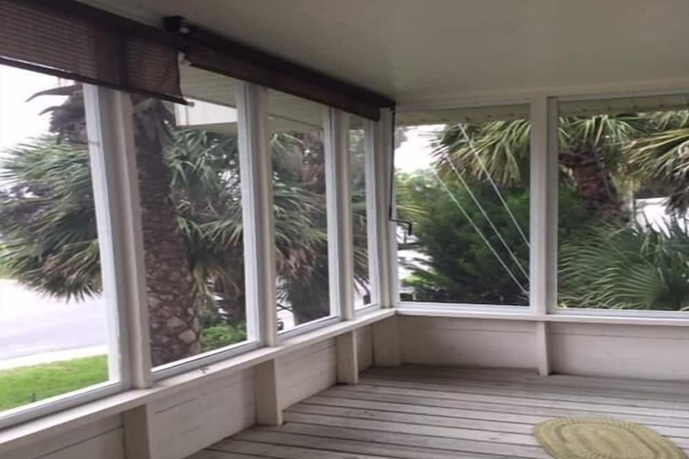 Ferienhaus, 2Queen-Betten (Corner Pocket) - Balkon