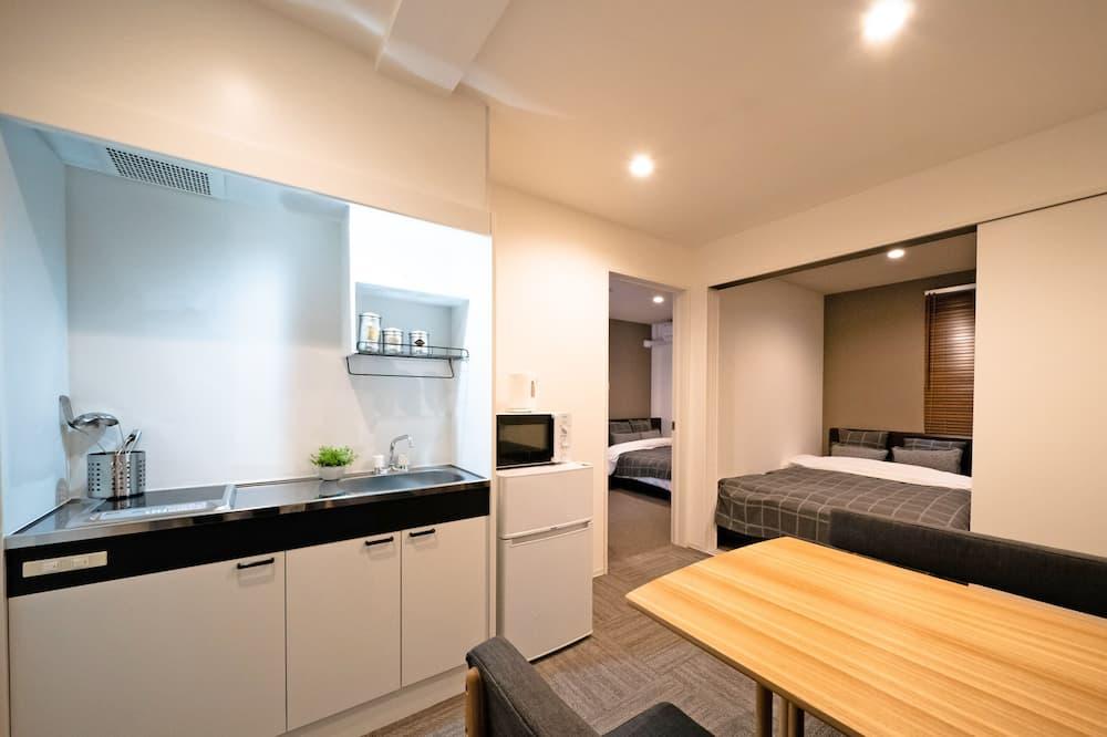 Apartment, 2Schlafzimmer, Nichtraucher (Type B) - Wohnzimmer