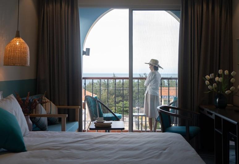 Coralina Hotel, Tuy Hoa, Deluxe Δίκλινο Δωμάτιο (Twin), Μπαλκόνι, Θέα δωματίου