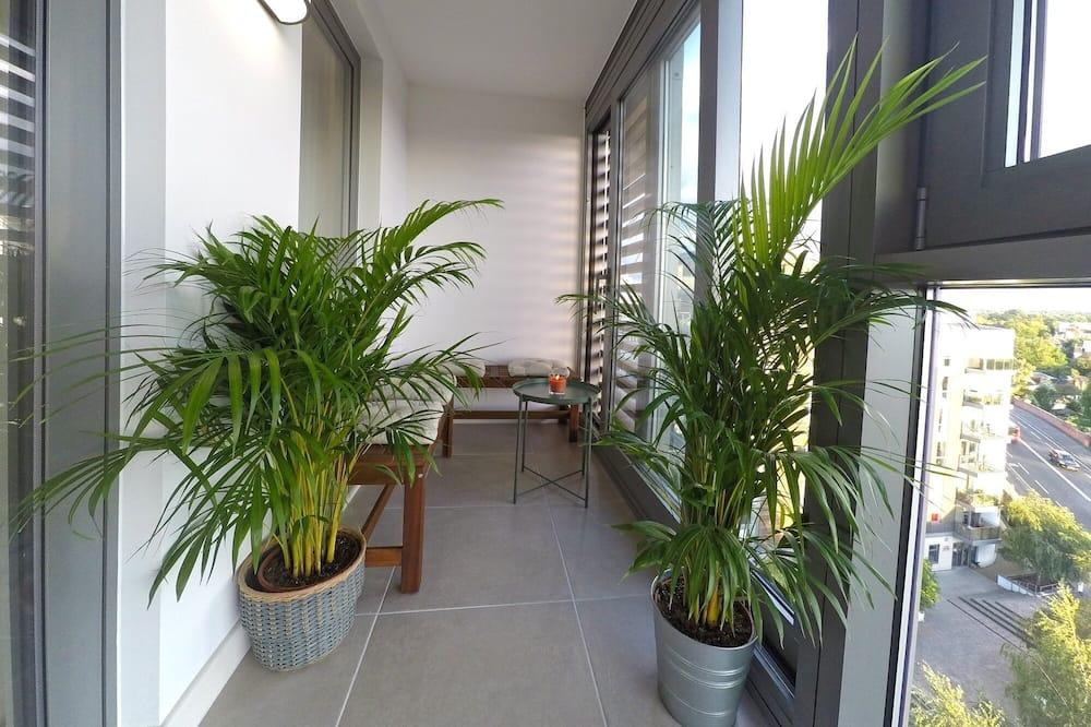 Apartmán typu Premium, 2 spálne, nefajčiarska izba, výhľad na mesto - Balkón
