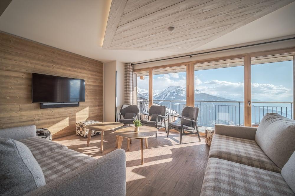 Duplex (Appartement duplex 501 ski au pied) - Living Area