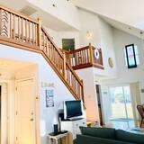 Domek, 4 ložnice - Obývací pokoj