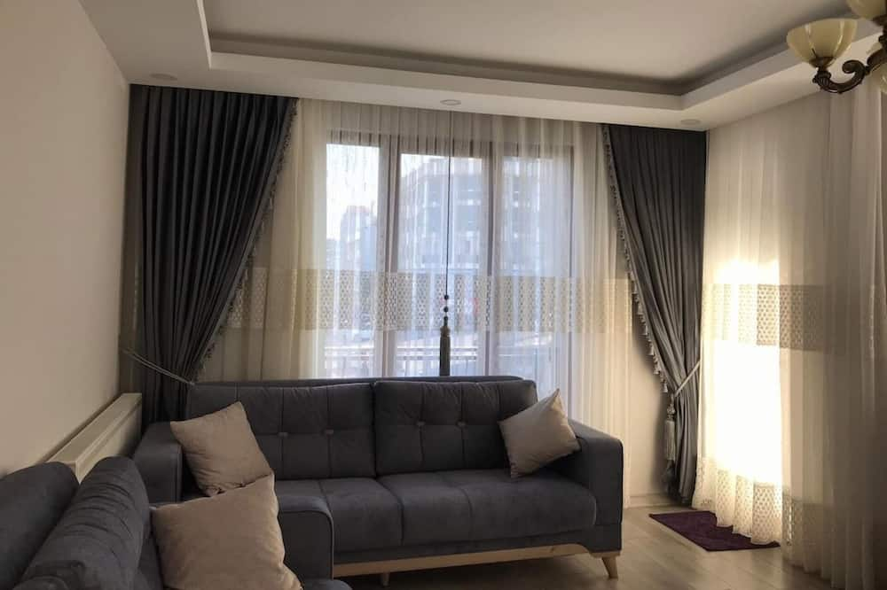 Apartment, Mehrere Betten - Wohnbereich