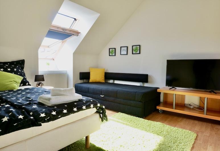 Modern Apartment in The Heart of Vienna (3), Viena, Apartamento, Área de estar