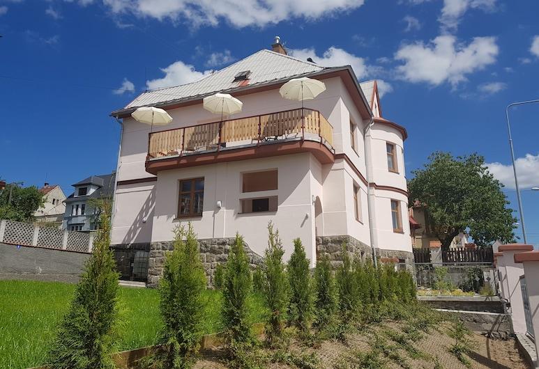 Vila Nejdek Erzgebirge, Najdek, גינה