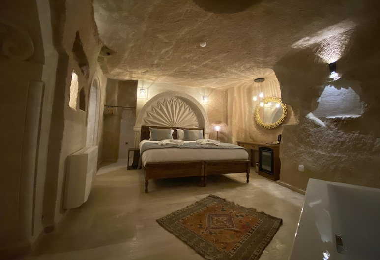 Misty Cave Hotel, Urgup, King Suite, Bilik Tamu