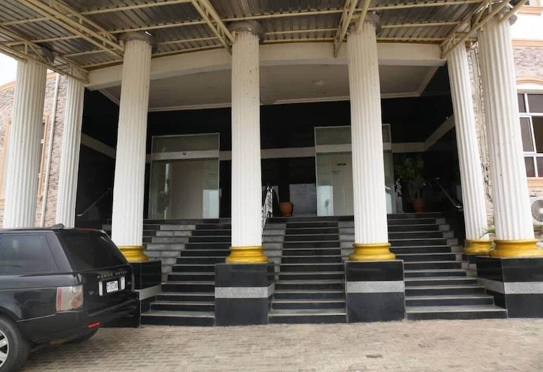 Zeus Paradise Hotel Abuja, Abuja, Parte delantera del hotel