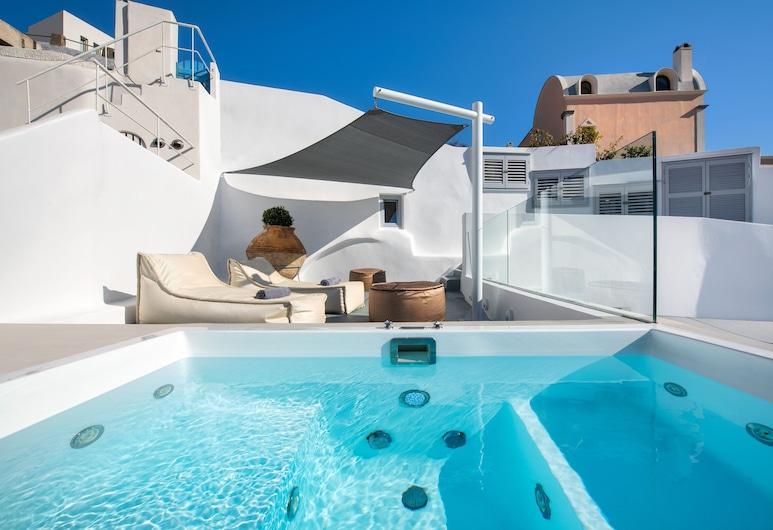 Hill Suites, Санторини, Спа-ванна на свежем воздухе