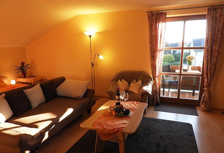 Appartements Hirsch, Bad Birnbach, ห้องนั่งเล่น