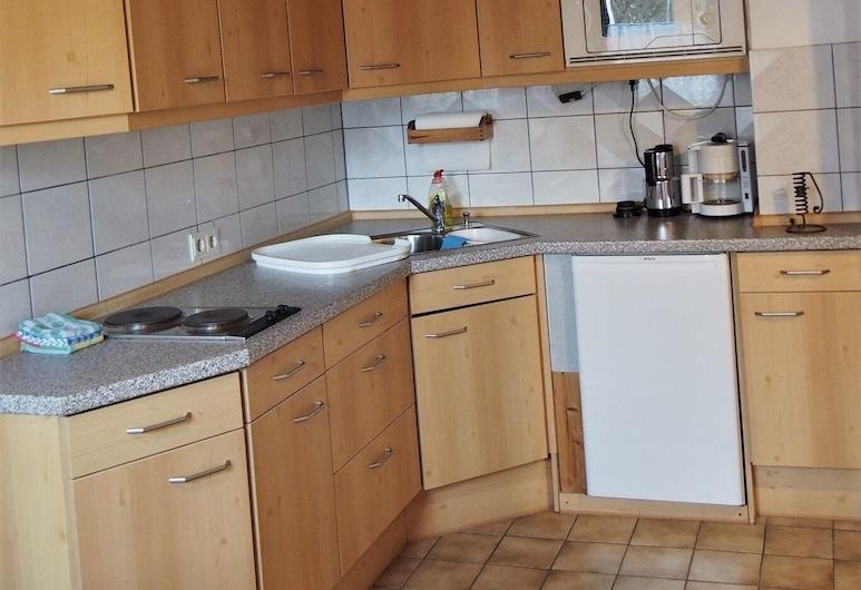 Ferienwohnung Seidenfaden, Karlstadt, Apartment, Dapur peribadi