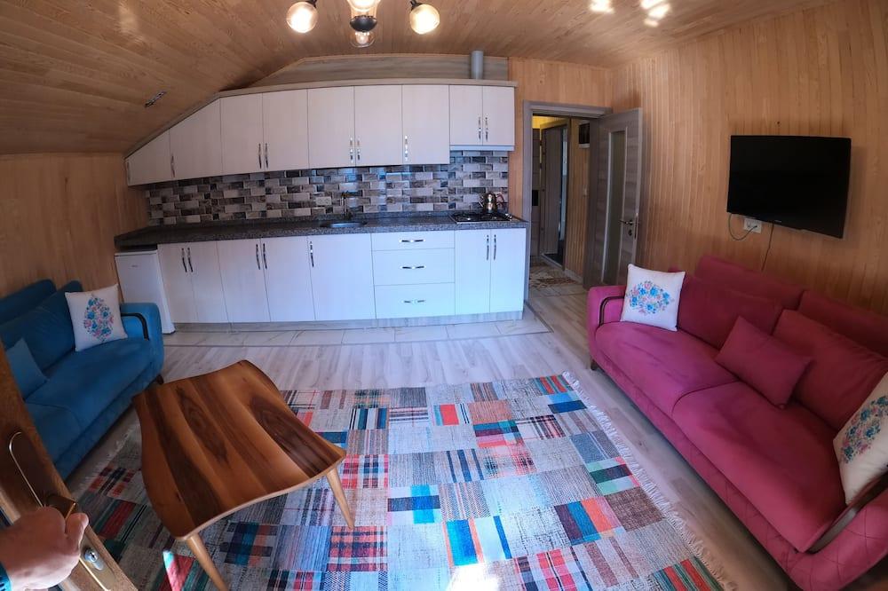 פנטהאוז, 2 חדרי שינה, נוף לאגם - אזור מגורים
