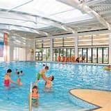 Hytte, flere senger - Svømmebasseng