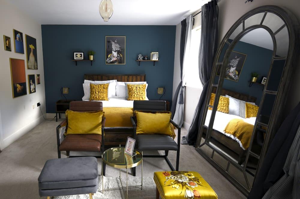 Luxury Double Room, Ensuite, Courtyard View (Harper) - Guest Room