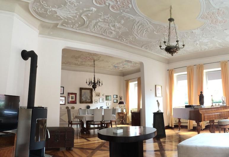 Palais-Volkach, Volkach, Apartment, 2 Bedrooms, Living Area