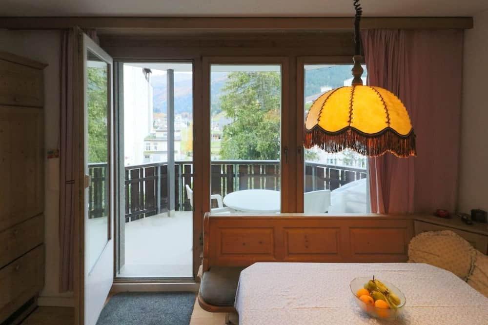 Apartamentai (Kroth; Cleaning Fee 80 CHF) - Balkonas