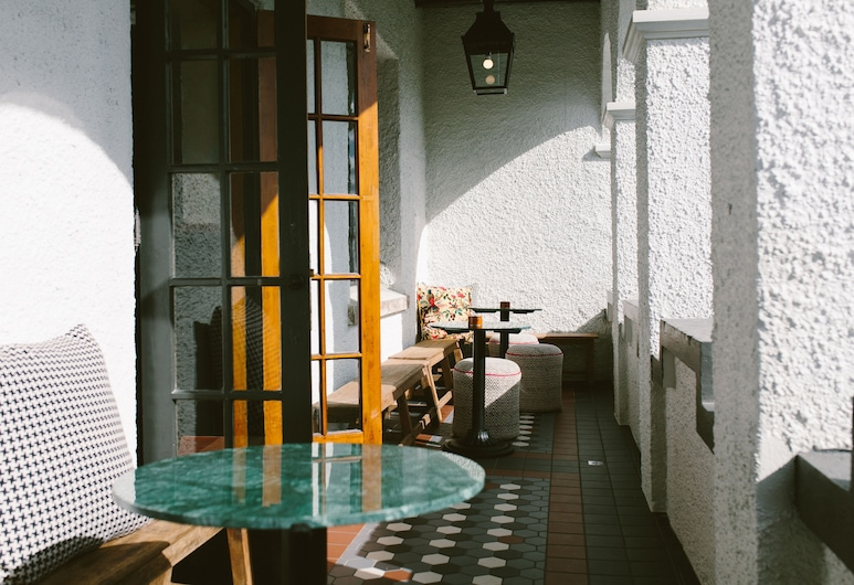 The Convent Hotel, Окленд, Тераса/внутрішній дворик