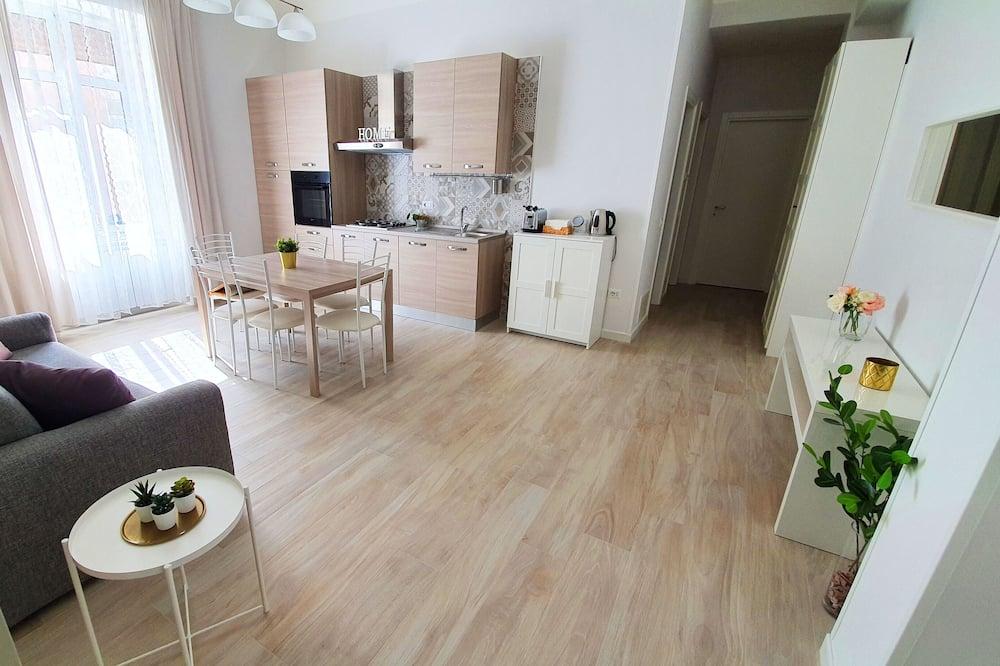 Семейные апартаменты (Plinio Il Vecchio) - Зона гостиной