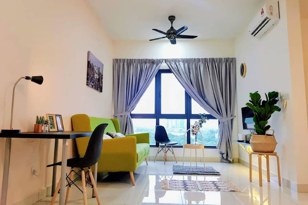 2 Bedroom Apartment A - Living Area