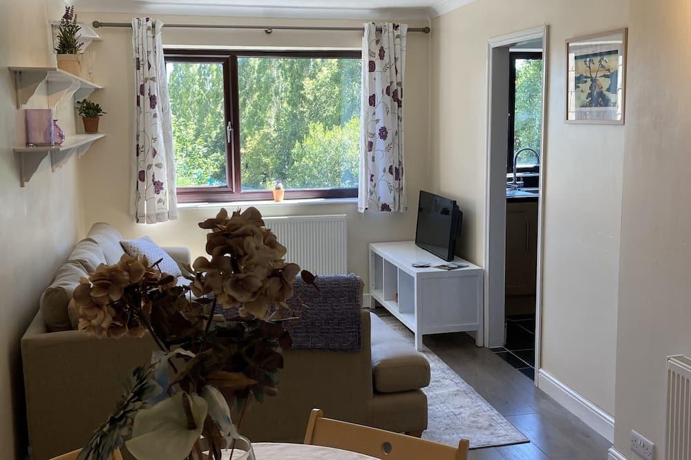 Departamento, 1 cama Queen size - Sala de estar