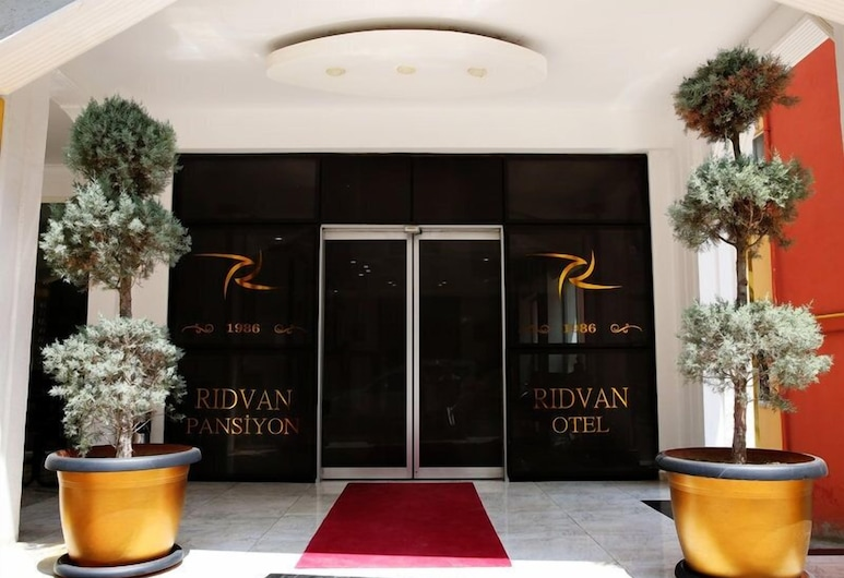 Ridvan Otel, Bursa, Vchod do hotela