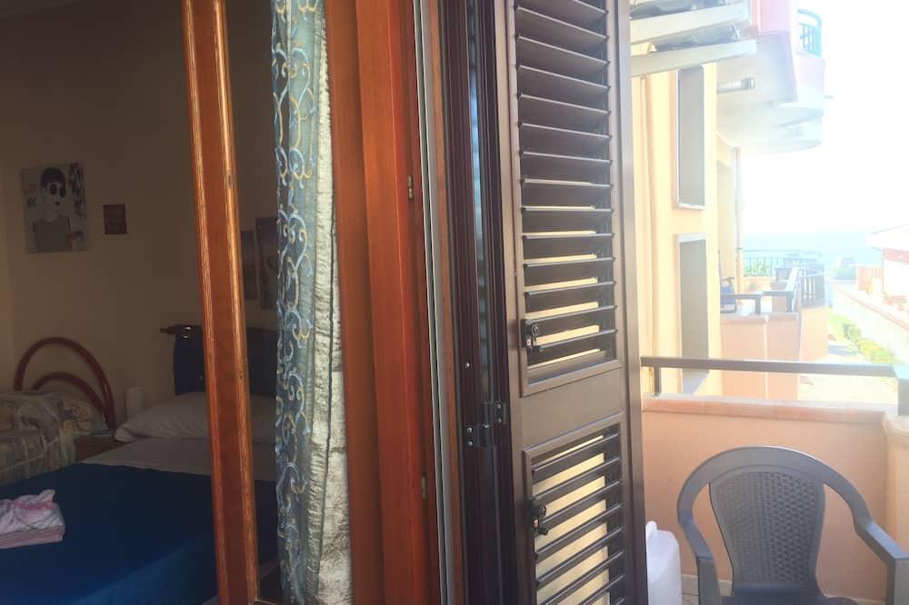 Economy-Doppelzimmer, eigenes Bad (External) - Balkon