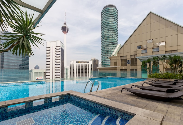 Lot 163 Suites at Kuala Lumpur City Centre, Kuala Lumpur, Kolam
