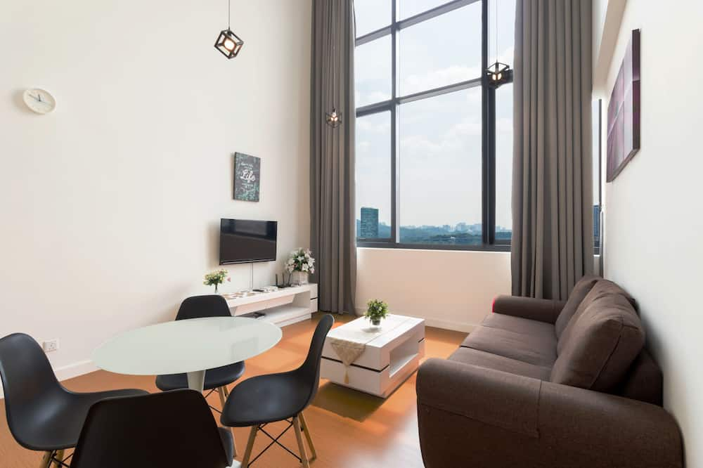 Business Duplex - Living Area