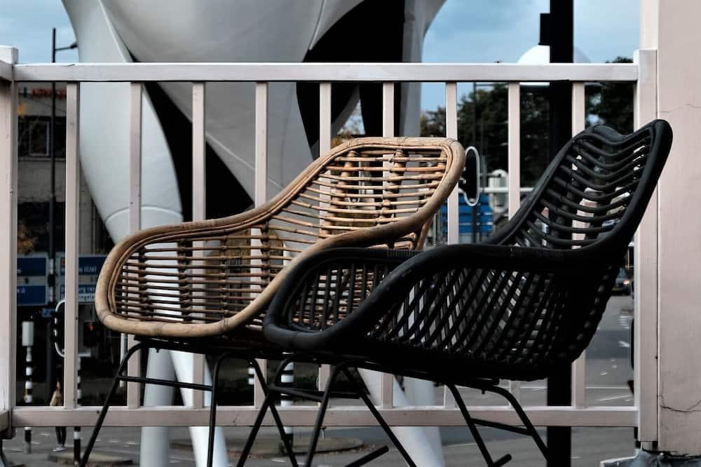 Design-Doppelzimmer (Umami Kamer) - Balkon