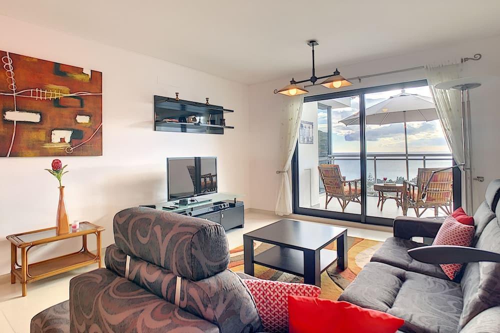 Apartamento, 1 Quarto, Acesso à Piscina - Sala de Estar
