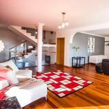 Vila, 4 ložnice, nekuřácký - Obývací pokoj