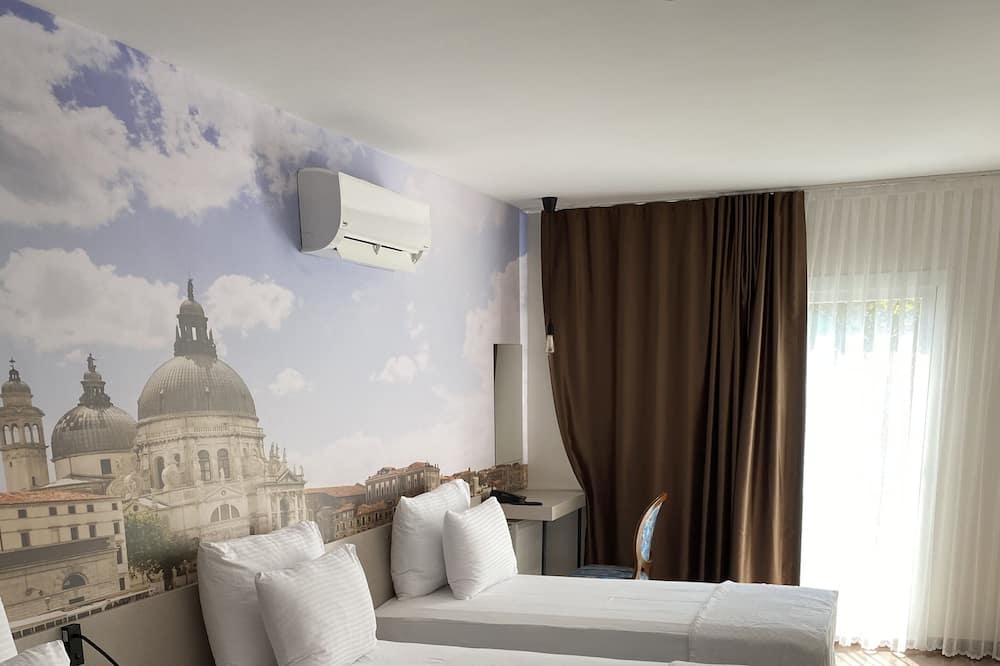 Phòng 3 Deluxe, Nhiều giường - Phòng tắm