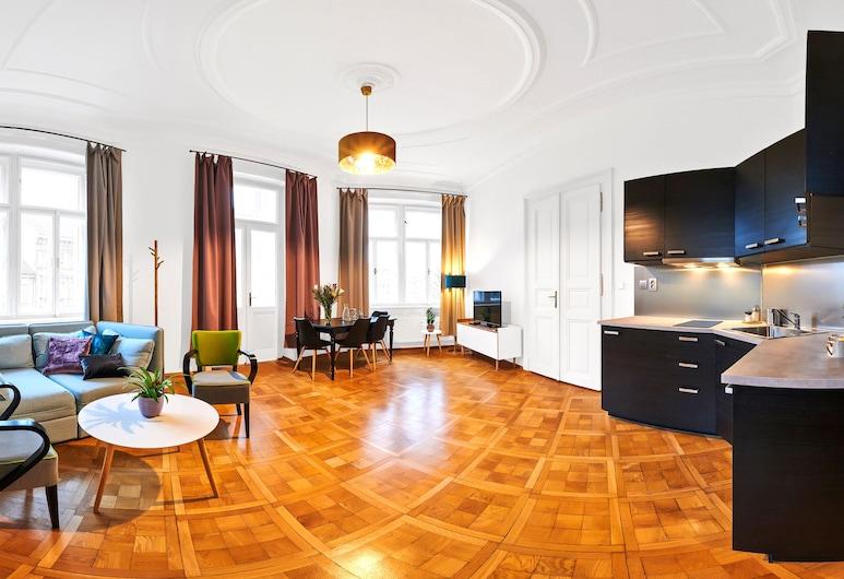 ロイヤル ルート レジデンス レッサー タウン, プラハ, エクスクルーシブ アパートメント, 部屋