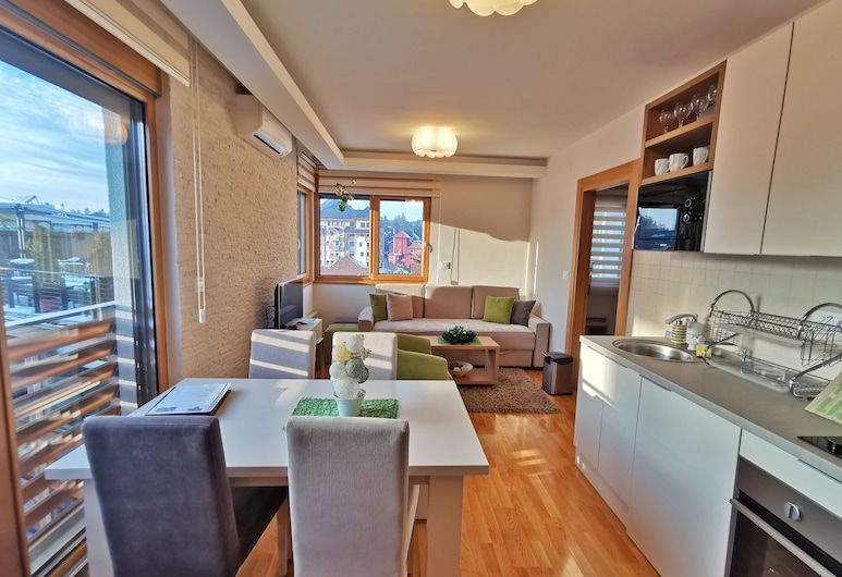 Apartments Egoiste - Centar, Zlatibor, Superior-Apartment, Wohnbereich