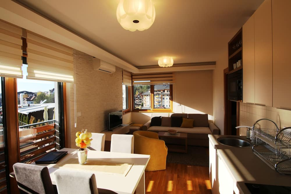 Royal Apartment - Living Area