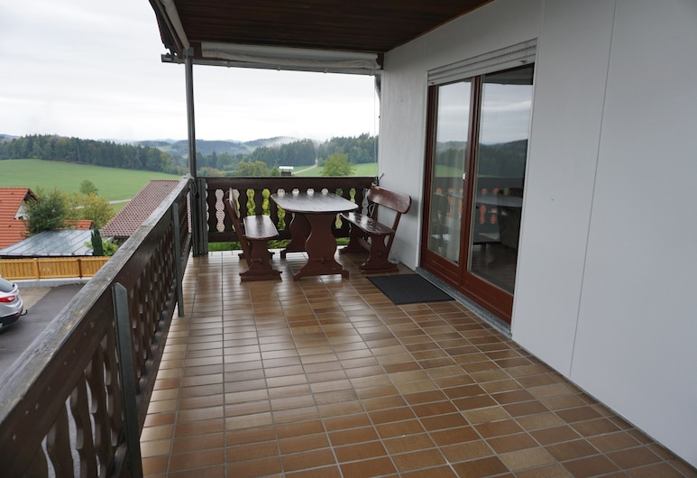 Ferienwohnungen Alpenblick, Eppenschlag, Departamento, 2 habitaciones, Terraza o patio