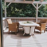 Chalet, 1 Bedroom, Non Smoking, Hot Tub - Balcony View