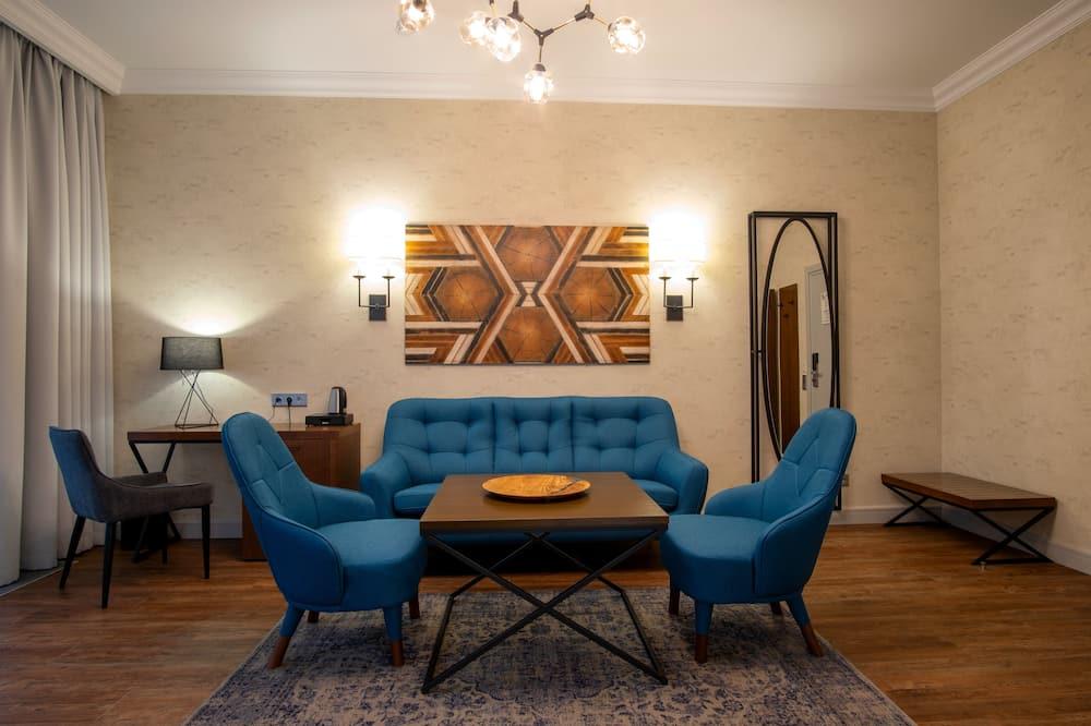 Prabangaus stiliaus kambarys - Svetainė