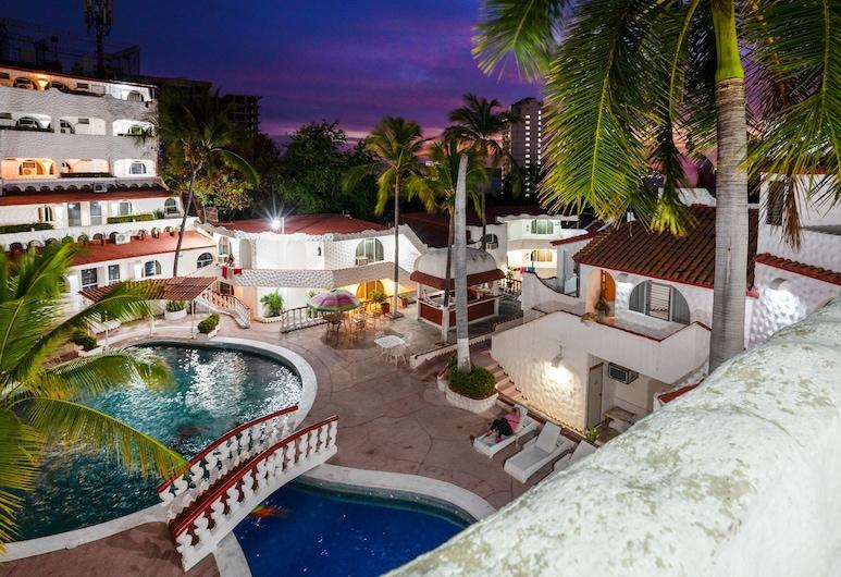 Capital O Pacific Paradise, Акапулько, Стандартная студия-люкс (2 single beds), Вид из номера